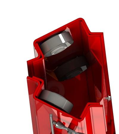 coluna elevador automotivo